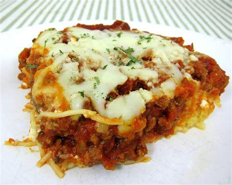 spaghetti casserole plain chicken