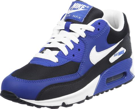 Nike Air Max Blue White by Nike Air Max 90 Youth Gs Shoes Blue White