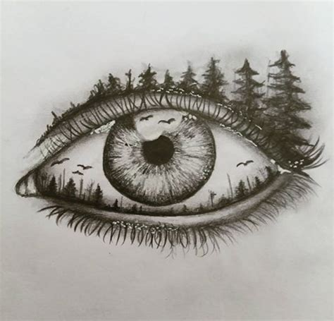 25 best ideas about eyes drawing tumblr on pinterest another beautiful drawing of an eye foresteye sketch