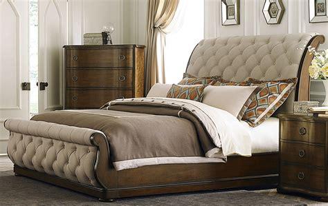 cotswold upholstered sleigh bedroom set  liberty