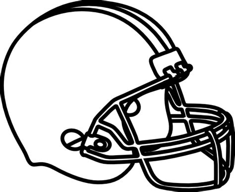 print football football helmet coloring pages printable