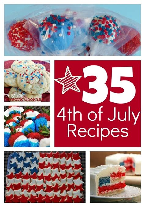 4th of july recipes food drinks pinterest