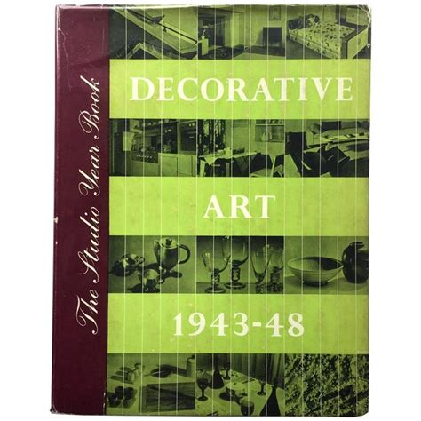 decorative art yearbook studio yearbook decorative art 1943 1948 for sale at 1stdibs