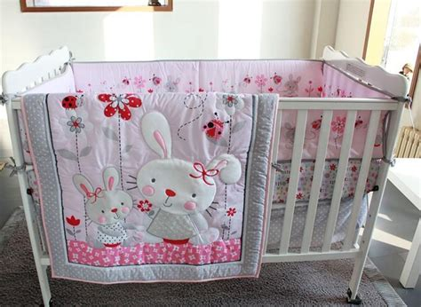 Velvet Newborn Set 8pcs In 1 Value Set Motif Spesial 8pcs cotton crib bedding set pink rabbit newborn