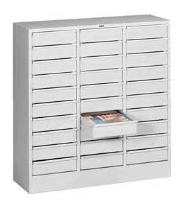 tennsco 30 drawer organizers