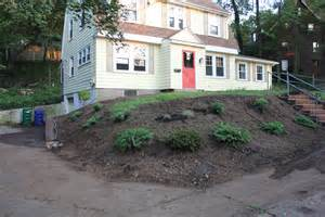 garden landscaping before and after lanscape information