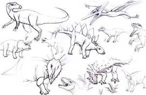 summer fun dinosaur sketches mtnsaremyhome