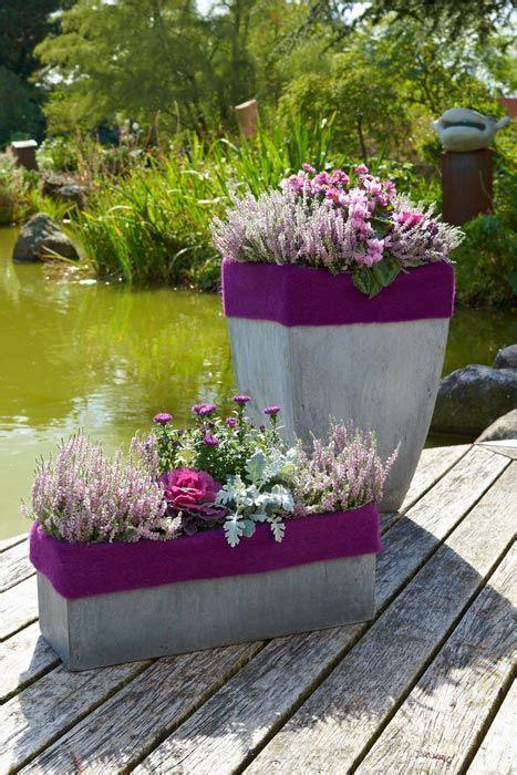 colour blocking und ton  ton heidetrends vorgarten