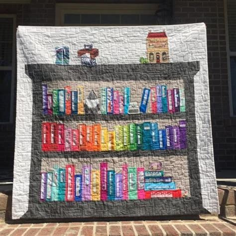 17 best images about bookcase quilts on the