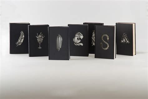 harry potter designs the harry potter books get a magical redesign technabob
