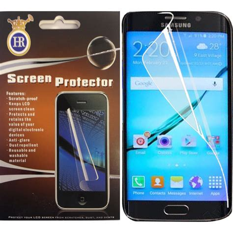 Screen Guard Protector For Samsung Galaxy Tab 77 P6800 for samsung galaxy phones clear screen protector premium