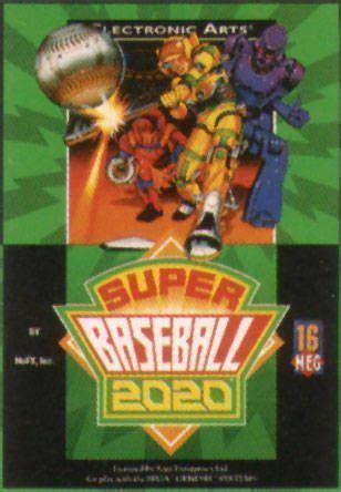 Baseball 2020 Sega Genesis by Baseball 2020 Uej R Usa Rom Sega Genesis