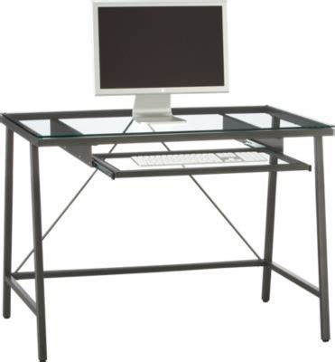 Cb2 Desk by Cb2 Dwight Desk Glass And Steel Industrial In