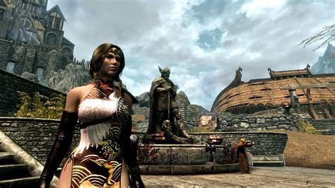 skyrim cbbe dress neo oriental dress v1 20 cbbe unp at skyrim nexus mods
