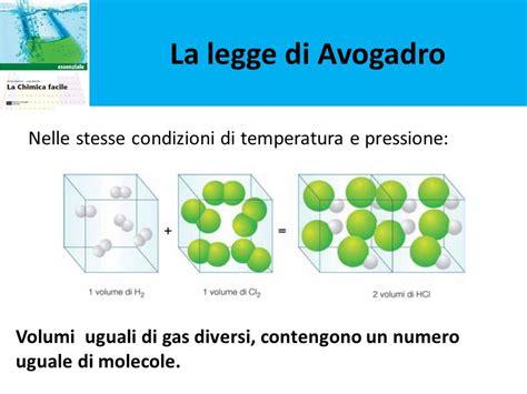 volumi uguali di gas diversi sandro barbone luigi altavilla la chimica facile ppt
