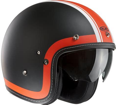Helm Retro Orange hjc fg 70s heritage orange hjc helmets free uk delivery