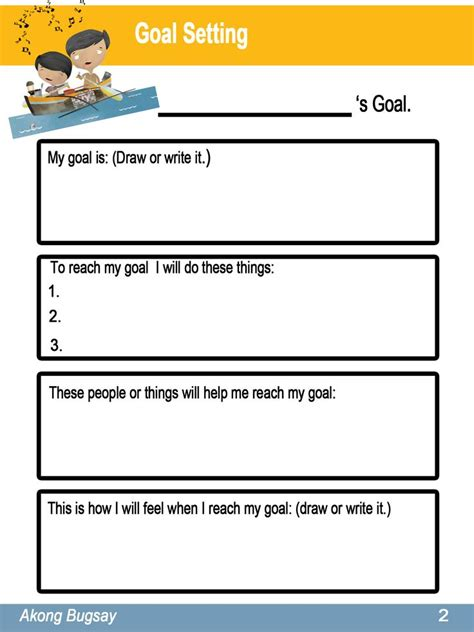 best 25 goal setting sheet ideas on pinterest goal