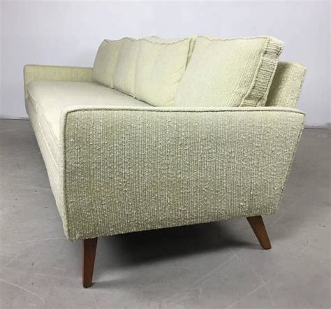 boucle sofa mid century celery wool boucle and walnut sofa and chair