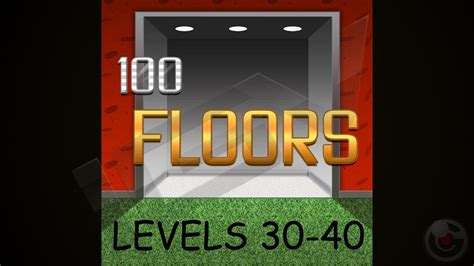 100 Floors Level 31 40 Walkthrough