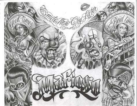 gangsta tattoos designs best 20 tattoos ideas on lowrider