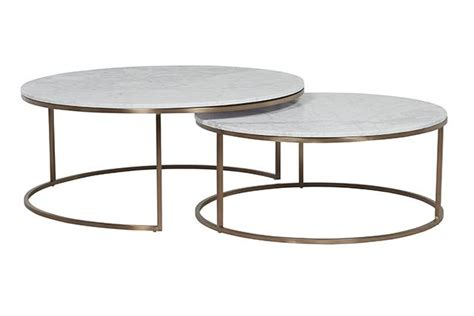 Elle Round Marble Nest Coffee Tables by GlobeWest   Make Your House a Home, Bendigo Central Victoria