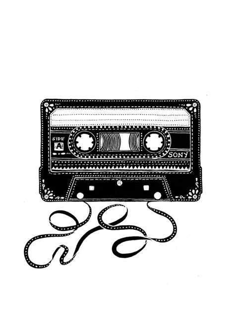 Vintage series - Sony Cassette tape by 'Handmade by