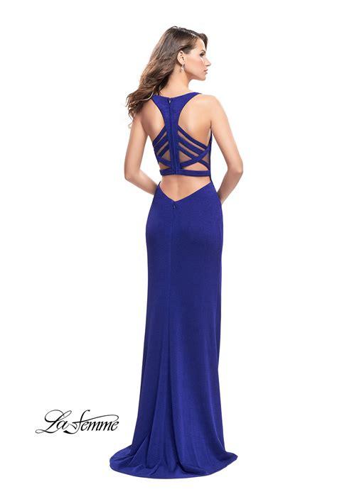 Blue Dress 25919 la femme 25720 la femme