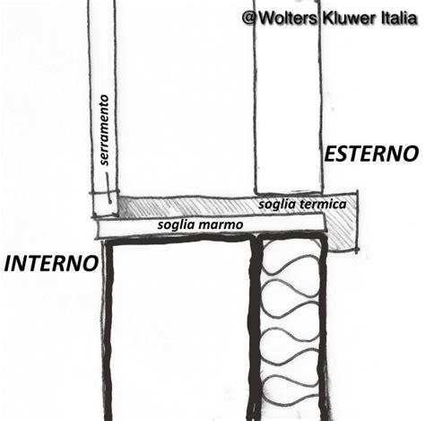 ponte termico davanzale ponti termici negli infissi cassonetti e davanzali