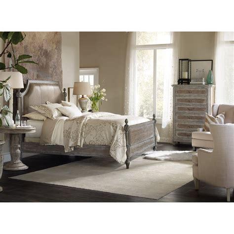 baers bedroom furniture hooker furniture true vintage 5701 90666c king leather