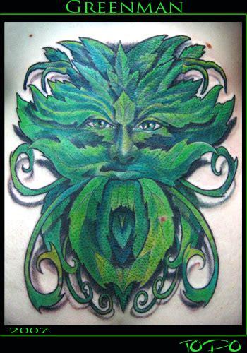tattoo wood green london green tattoo man