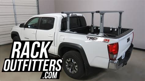 toyota bed rack toyota tacoma bed with thule xsporter pro 500xt
