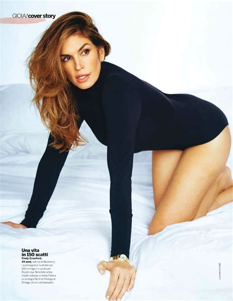 cindy crawford gioia magazine october 2015