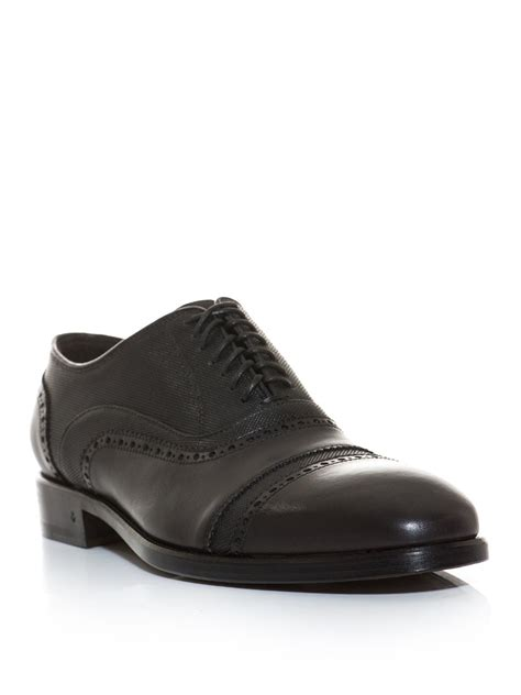 varvatos oxford shoes varvatos fleetwood lace up oxford shoes in brown for