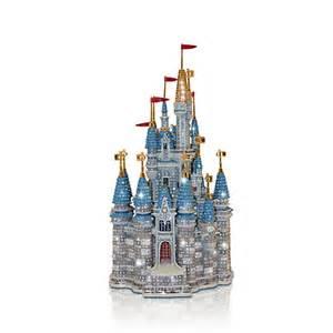 Swarovski Christmas Ornament - walt disney world cinderella castle miniature by arribas brothers disney store