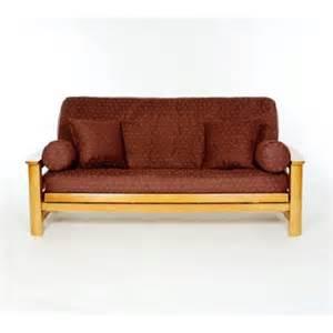 lifestyle covers claret futon slipcover walmart