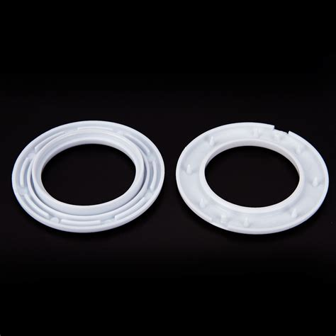 white drapery rings 20x plastic snap drapery curtain eyelets heading rings