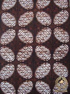 Kain Batik Sogan Kain Lawasan Jawa Hi 008 gambar batik yogyakarta motif kawung 1 batik
