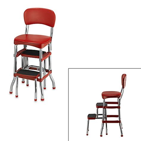 Cosco Retro Step Stool by Cosco 174 Retro Chair Step Stool In Bed Bath Beyond