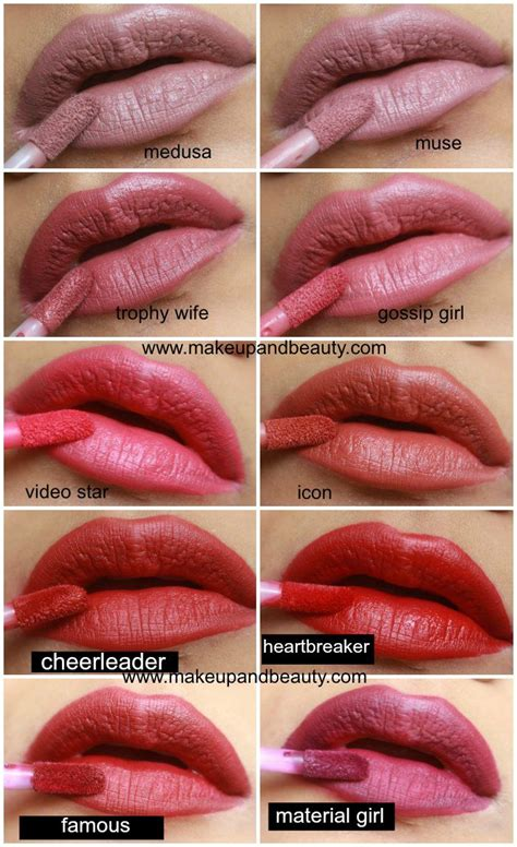 Huda Lip Matte Lipstik Mate all huda liquid matte lipstick photos swatches