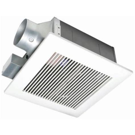 bathroom exhaust fan home depot panasonic whisperfit 110 cfm ceiling low profile exhaust bath fan energy star fv