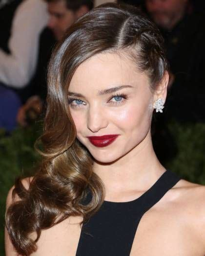2013 met gala hairstyles how to miranda kerrs braids and waves 723 best images about makeup on pinterest