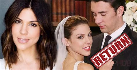 days of our lives cast news kate mansi reportedly confirmed kate mansi back as days of our lives abby