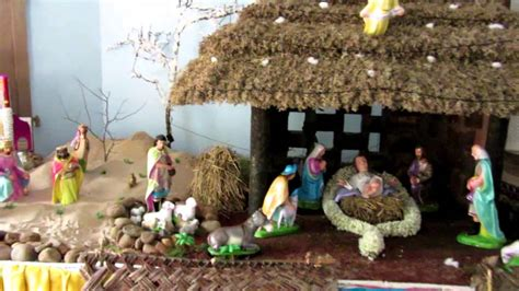 christmas crib model 1 youtube