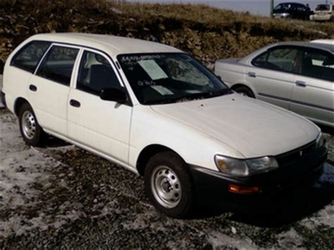 Toyota Sprinter Wagon 2000 Toyota Sprinter Wagon For Sale For Sale