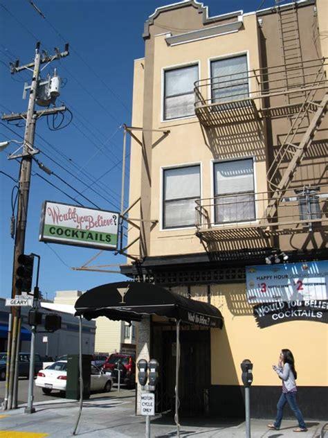 san francisco map richmond district geary boulevard richmond district san francisco california