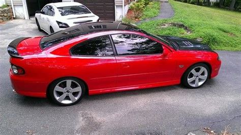 2005 Pontiac Gto Wheels by Sell Used 2005 Pontiac Gto Blk Auto 11k 18in