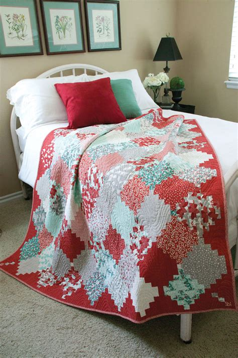 christmas pattern bedding holiday lanterns festive traditional lap quilt pattern