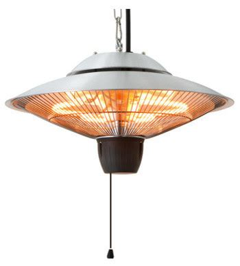 Hanging Electric Patio Heater Energ Outdoor Hanging Electric Infrared Patio Heater Contemporary Patio Heaters By Air