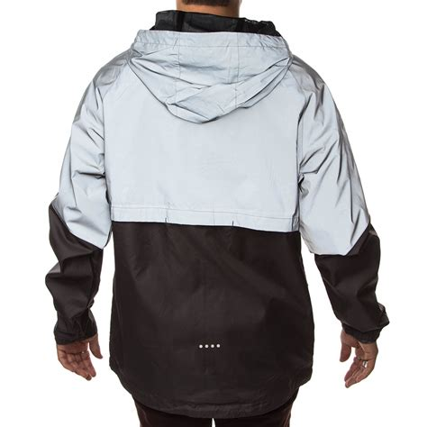 Zipper Jaket Silver imperial motion theory reflective zip jacket reflective silver