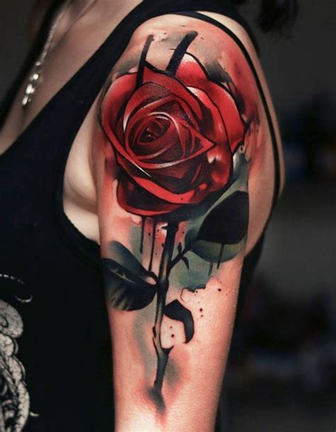 roses sleeve tattoos 120 meaningful designs ideas